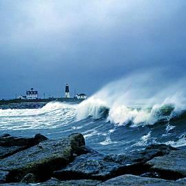 Point Judith Lighthouse Storm