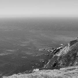 Sierra Vance - Point Reyes Cliffs Black and White