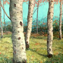 Beth Capogrossi - Poised Birches