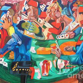 Poker Night by James Lavott