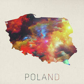 Design Turnpike - Poland Watercolor Map