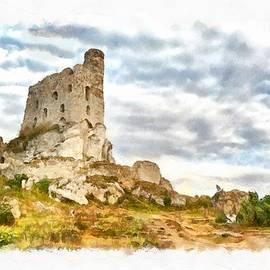Maciek Froncisz - Mirow Castle Ruins in Poland