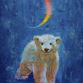 Polar Bear Cub - Michael Creese