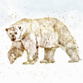 Marian Voicu - Polar Bear watercolor