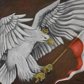 Polish White Eagle by Marta Kazmierska