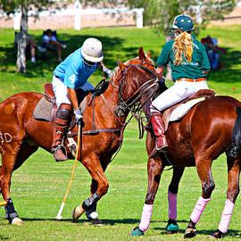 Barbara Zahno - Polo Pony Match