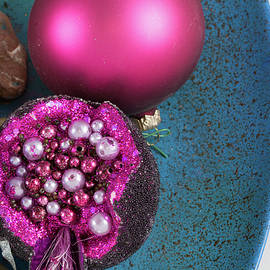 Pomegranate and other Christmas Decor Closer-up by Iordanis Pallikaras