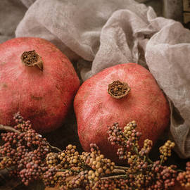 Teresa Wilson - Pomegranate Still Life
