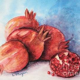 Pomegranates by Laurie Morgan
