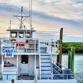 Ponce Inlet Fishing Boat by Roger Epps