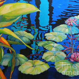 POND 1 Pond Series by Sharon Nelson-Bianco
