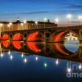 Pont Neuf in Toulouse by Elena Elisseeva