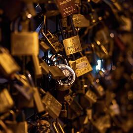 Pont Neuf Love Locks by Nisah Cheatham