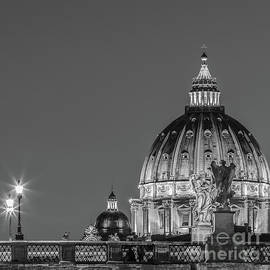Ponte Sant Angelo and St. Peter's Basilica 2 by Henk Meijer Photography