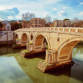 Joan Carroll - Ponte Sisto Rome Italy