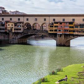 Joan Carroll - Ponte Vecchio Florence Italy II
