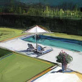 Russell Pierce - Poolside