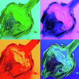 Pop Art Artichoke  by Amanda Chase