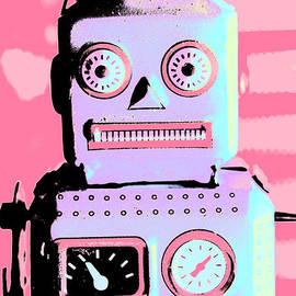 Pop Art Poster Robot by Jorgo Photography - Wall Art Gallery