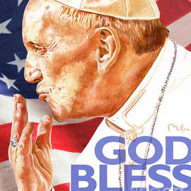 Perry Milou - Pope Francis - God Bless America - PMGBA