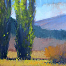 Nancy Merkle - Poplars