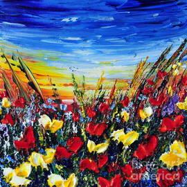 Teresa Wegrzyn - Poppies 4