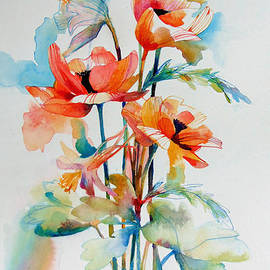 Wendy Westlake - Poppies and Columbine