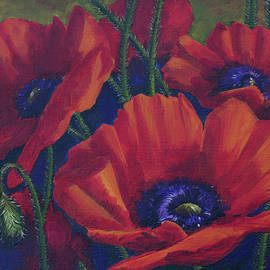 Poppies by Elena Pavlova
