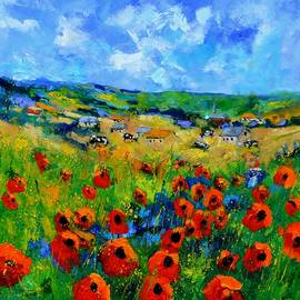 Pol Ledent - Poppies in Ieper