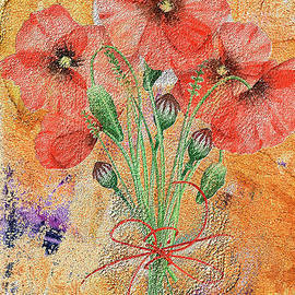 Poppies by Susan  Lipschutz