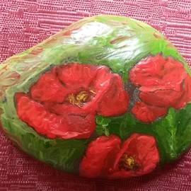 Poppies.1 by Olga Ignatskaya