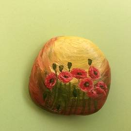 Poppies.4 by Olga Ignatskaya
