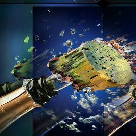 Popping bottles by Marco De Mooy