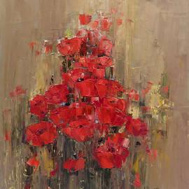 Poppy Field by Ana Dawani