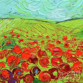 Poppy Field Etude by Mona Edulesco