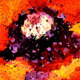 Poppy Mosaic by Karon Melillo DeVega
