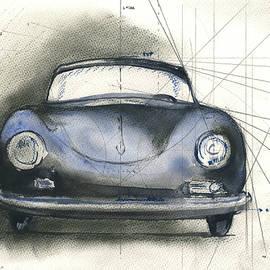 Porsche 356  - Juan Bosco