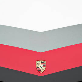 Porsche Abstract - Tim Gainey