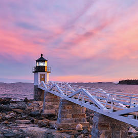 Port Clyde Marshall Point Light by Juergen Roth