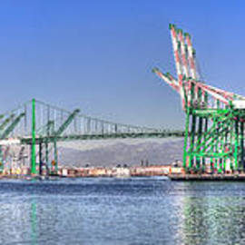 Jim Carrell - Port of Los Angeles - Panoramic