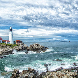 Gestalt Imagery - Portland Head Light