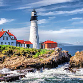 Portland Head Lighthouse by Christopher Arndt