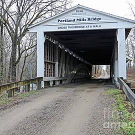 Steve Gass - Portland Mills Covered Bridge Indiana