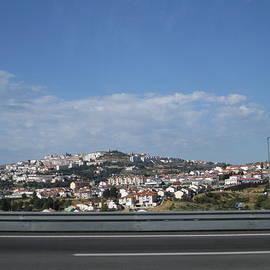 Porto Highway Portugal by John Shiron