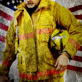 Toni Hopper - Portrait of a Firefighter