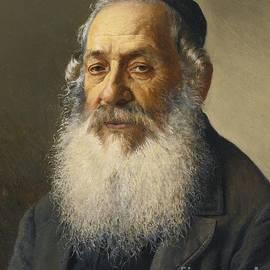 Portrait Of A Jewish Man by Isidor Kaufmann