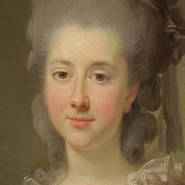 Portrait of Countess Urszula Potocka, nee Zamoyska  - Elisabeth Louise Vigee Lebrun