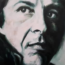 Christel Roelandt - Portrait of Leonard Cohen