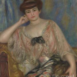 Pierre Auguste Renoir - Portrait of Misia Godebska-Sert