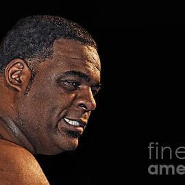 Jim Fitzpatrick - Portrait of Pro Wrestler Keith Lee
